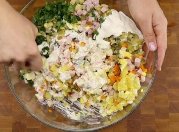 Посетила кулинарный мастер-класс, попробовала новый вкус салата «Оливье». Делюсь рецептом с вами
