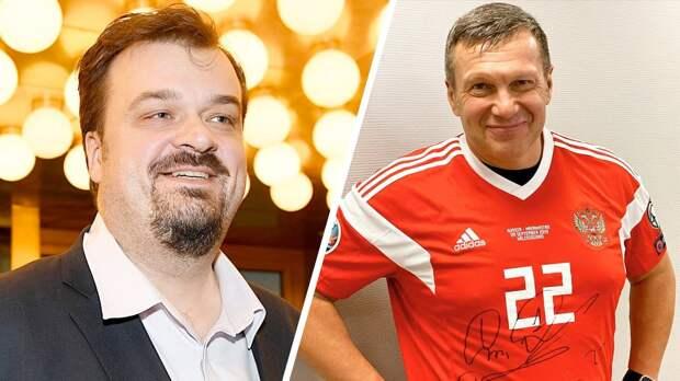 Уткин назвал телеведущего Соловьева обезьяной вспоре оправительстве России