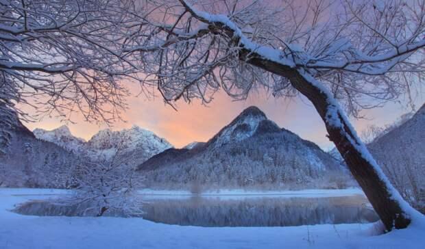 11 морозных пейзажей: для самых стойких