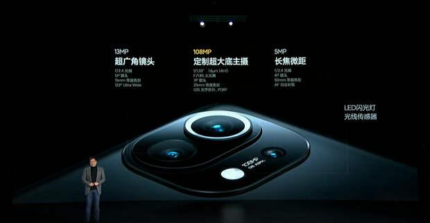 Экран 2К, 108 Мп, 4600 мА·ч, 55 Вт за $610. Представлен Xiaomi Mi 11 — первый в мире смартфон на Snapdragon 888