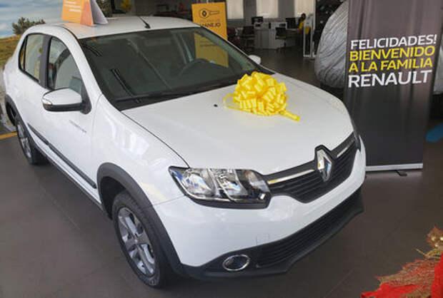 Renault Logan превратился в кроссовер