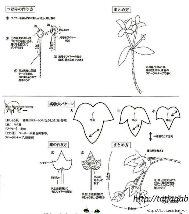 302_Ondori. Flowers. Wire Work Embroidery - 2006.page42 copy (616x700, 184Kb)