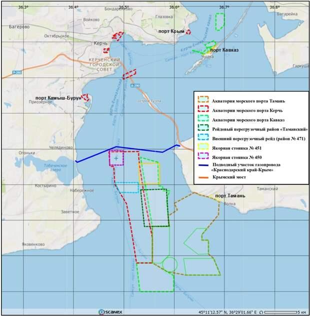 Пятилетний мониторинг пленочных загрязнений Керченского пролива