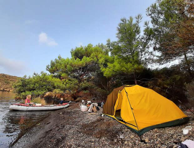 с палаткой по Турции