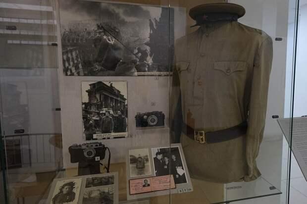 В Краснодаре открылась выставка военной фотографии