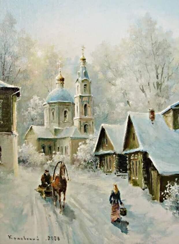 художник Владимир Краевский картины – 49