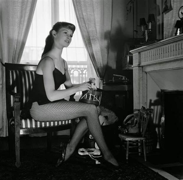 Юная балерина Брижит Бардо