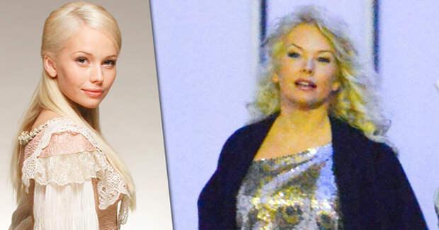 Актриса в молодости (слева) и в настоящее время (справа)