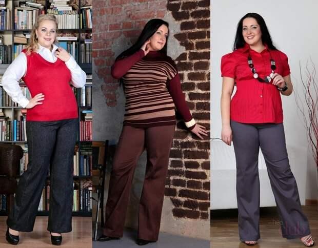 Стильные и модные полные женщины