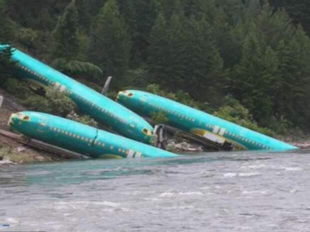 Крушение поезда сократит месячное производство Boeing 737 на 14%