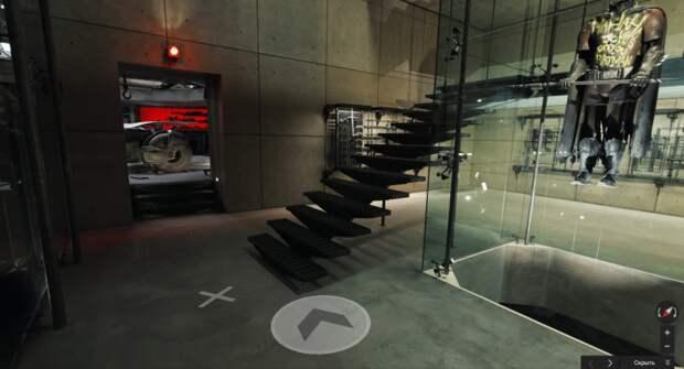 Google Maps  предложил всем виртуально прогуляться по резиденции Бэтмена. Развлекайтесь (скриншоты, ссылка)