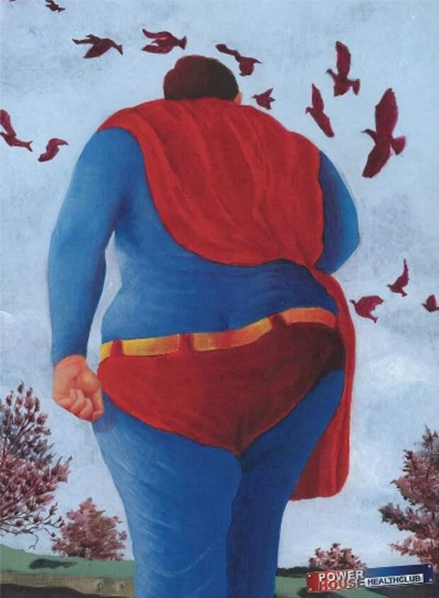 Супергероям пора на фитнес