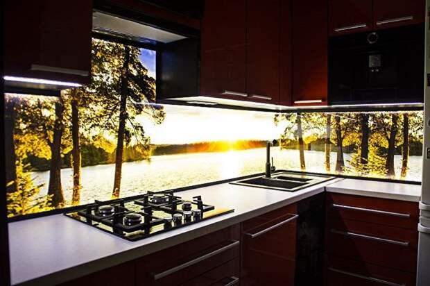 Интересные идеи оформления кухонного фартука