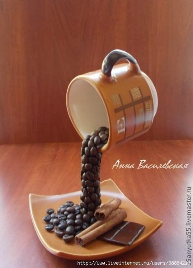 6256c2723368 Летающая  чашка кофе. Мастер классы