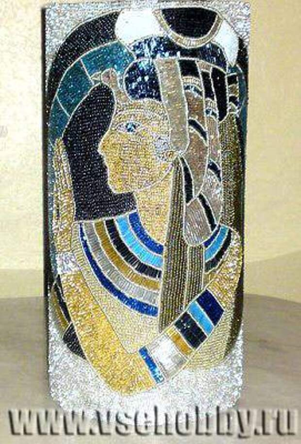 декорирование стеклянных ваз бисером своими руками мастер-класс