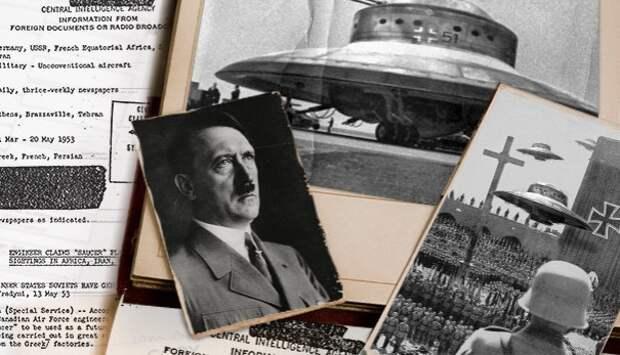 тарелка, нацист, летающей тарелки, цру, технология