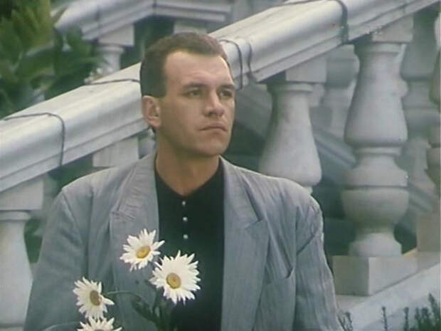 """Ремигиюс Сабулис в фильме «Роман """"alla russа» (1994)"""