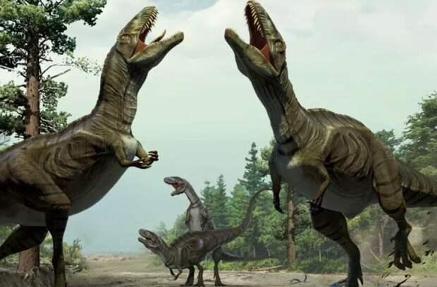 Невероятно: тираннозавры жили стаями?