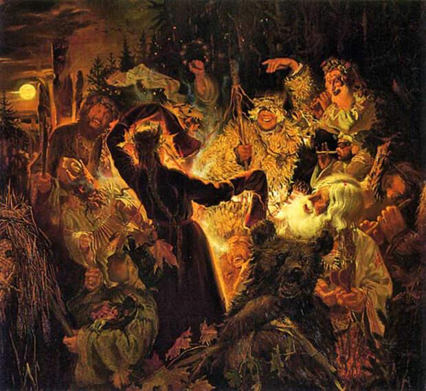 Языческие традиции и христианство в Древней Руси