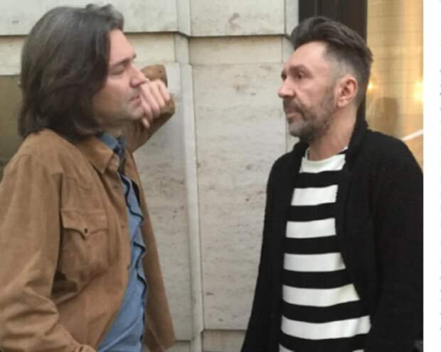 Дмитрий Маликов и Сергей Шнуров споют в дуэте
