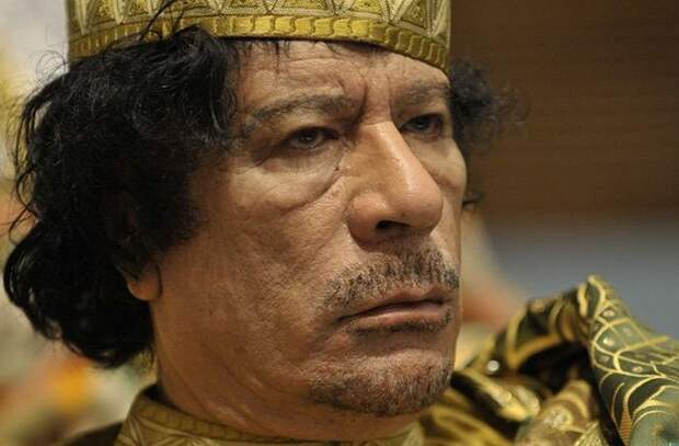 Тайник с сокровищами Каддафи.