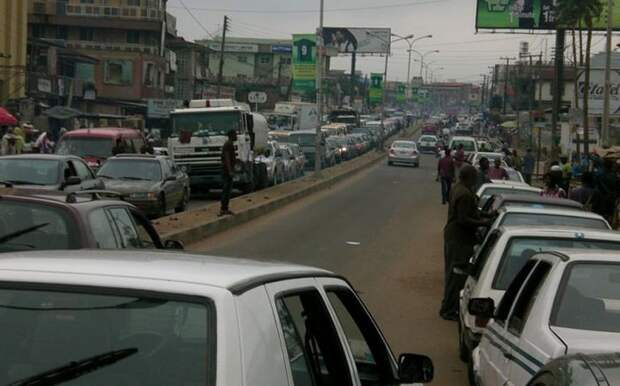 3. Нигерийцы автопутешествие, водители