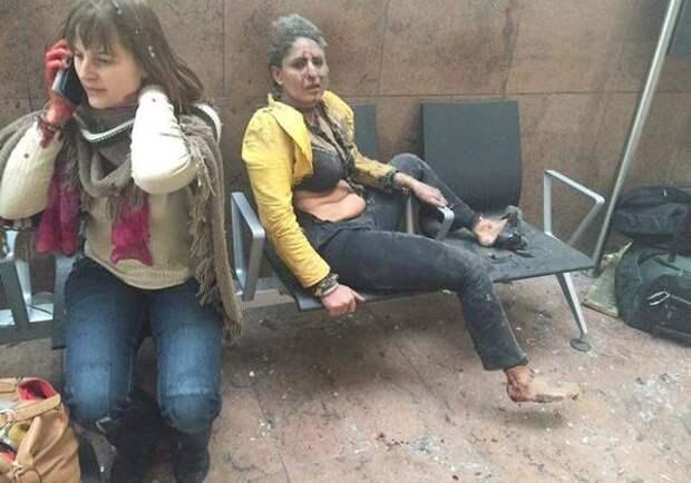 Молния! Удар по Евросоюзу - три взрыва в Брюсселе (жуткие фото, видео)