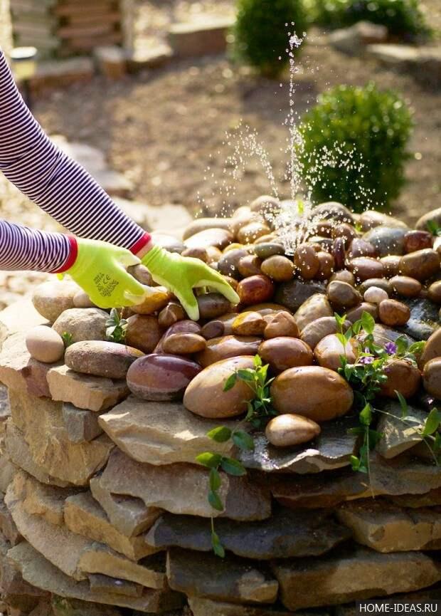 сооружение фонтана своими руками