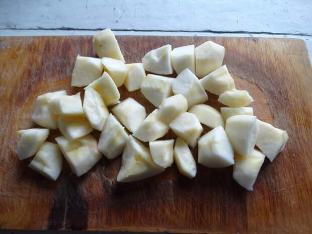 Пшённая каша, которую любят мои внуки (на тыквенно-яблочной основе)