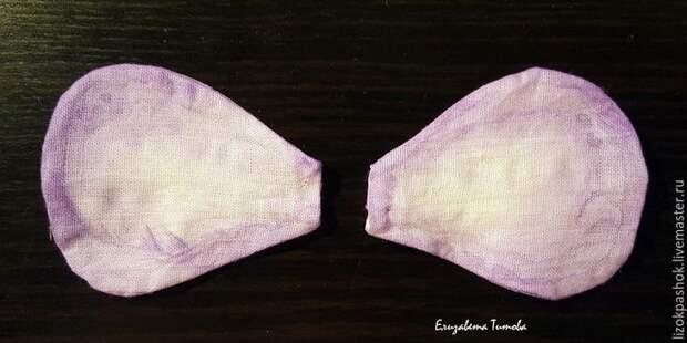 Шьем куколку «лавандовый мотылек» из обрезков ткани, фото № 12