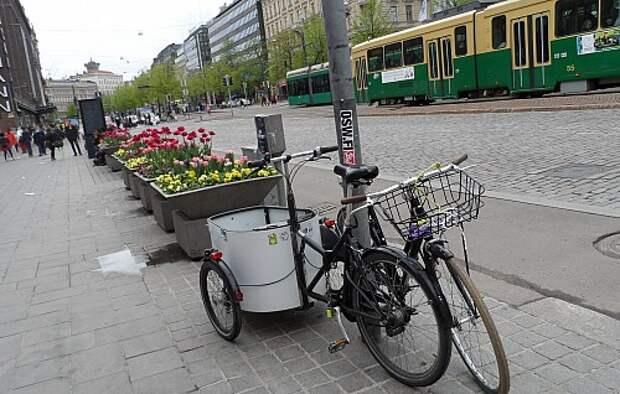 Улицы Хельсинки очистят от личных автомобилей