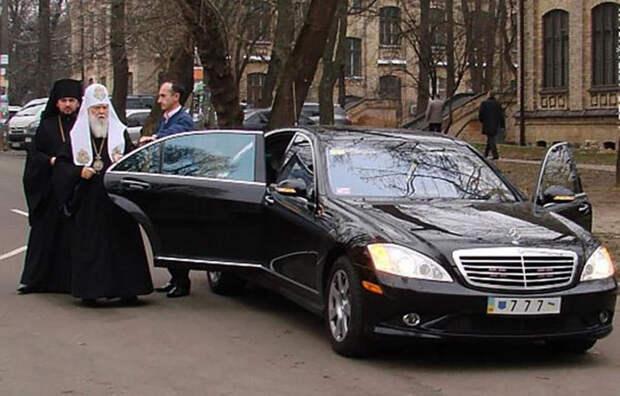 Бог подаст! На чем ездят церковные лидеры в России и мире