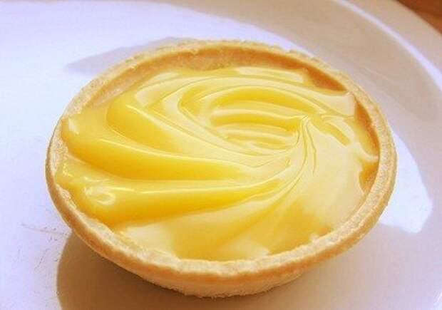 Лимонный крем.