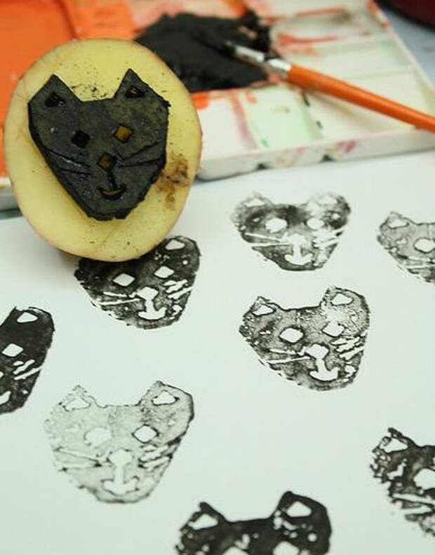 Как сделать штамп своими руками