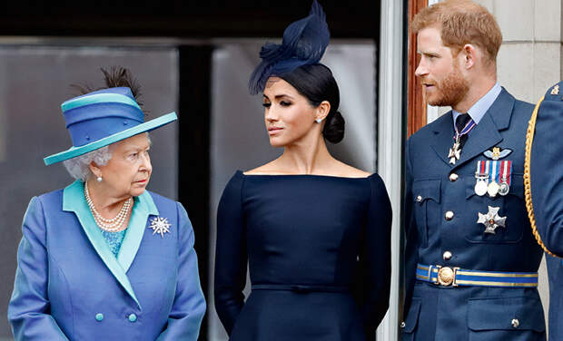 СМИ: королева Елизавета II собирается судиться с принцем Гарри и Меган Маркл