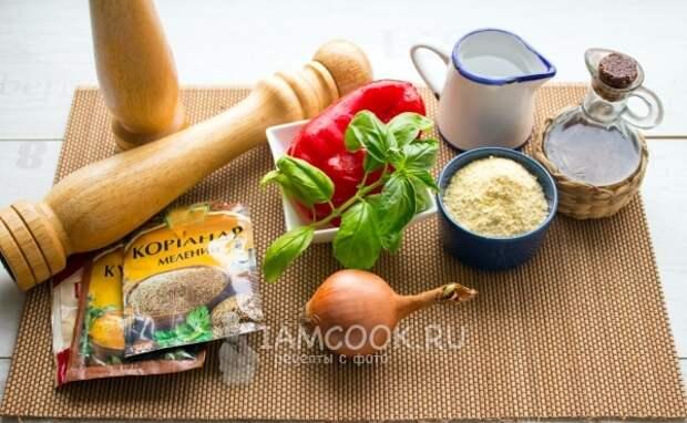Ингредиенты для Сокки (Фаринаты)