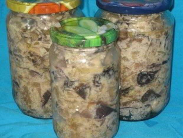 Баклажаны в майонезе на зиму — такую закуску вы еще не пробовали! Отменная заготовка!