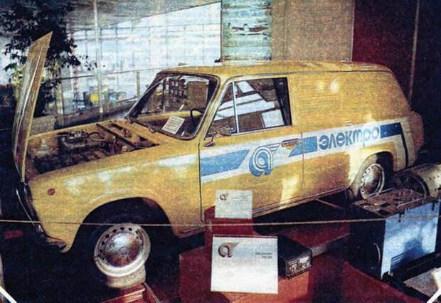 Каким был первый советский серийный электромобиль