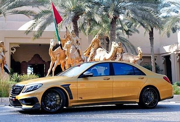 Brabus Rocket 900 Desert Gold Edition: золотая арабская мечта (ФОТО)