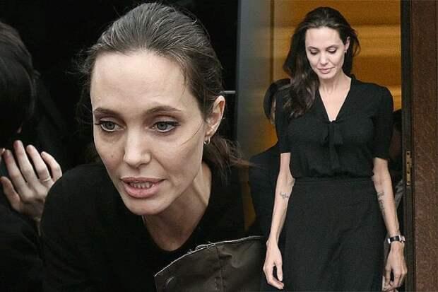 Больная Анджелина Джоли отказывается от помощи отца