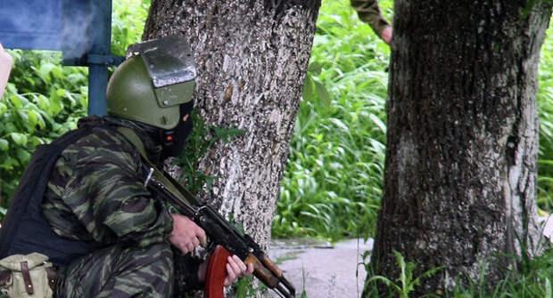 Забавный случай при условной ликвидации боевиков российским спецназом