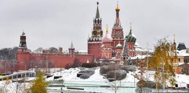 В центре Москвы 31 января ограничат движение пешеходов из-за призывов на незаконную акцию Фото: Ю. Иванко mos.ru