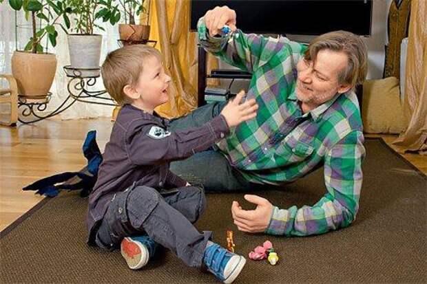 Актер Виктор Раков и сын Даниил дети, добро, родители, усыновление