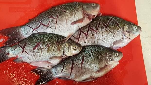 Жаренные караси Еда, Жаренная рыба, Карась, Готовим дома, Рецепт, Длиннопост