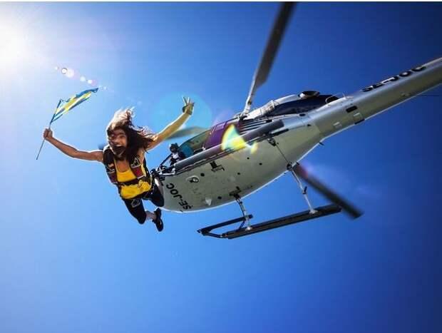 Удивительные фото, сделанные в свободном падении