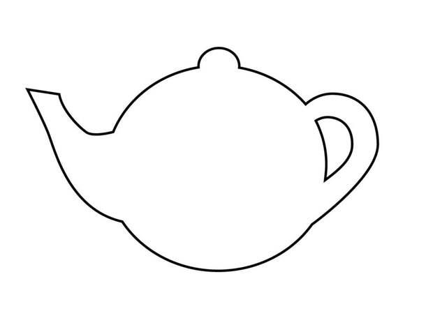Шаблон чайник