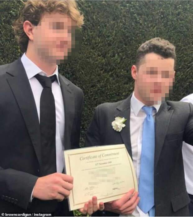 Два австралийца поженились ради вечеринки вовремя карантина