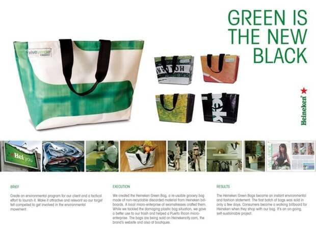 Heineken: Green is the new black