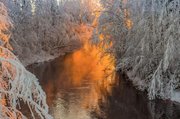 Морозное дыхание зимы