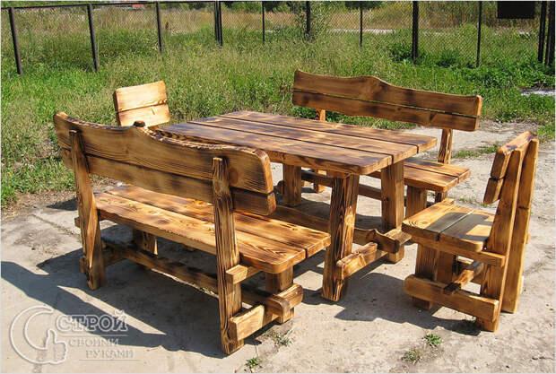 Красивая деревянная мебель